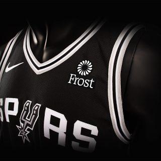 San Antonio Spurs Frost Jersey