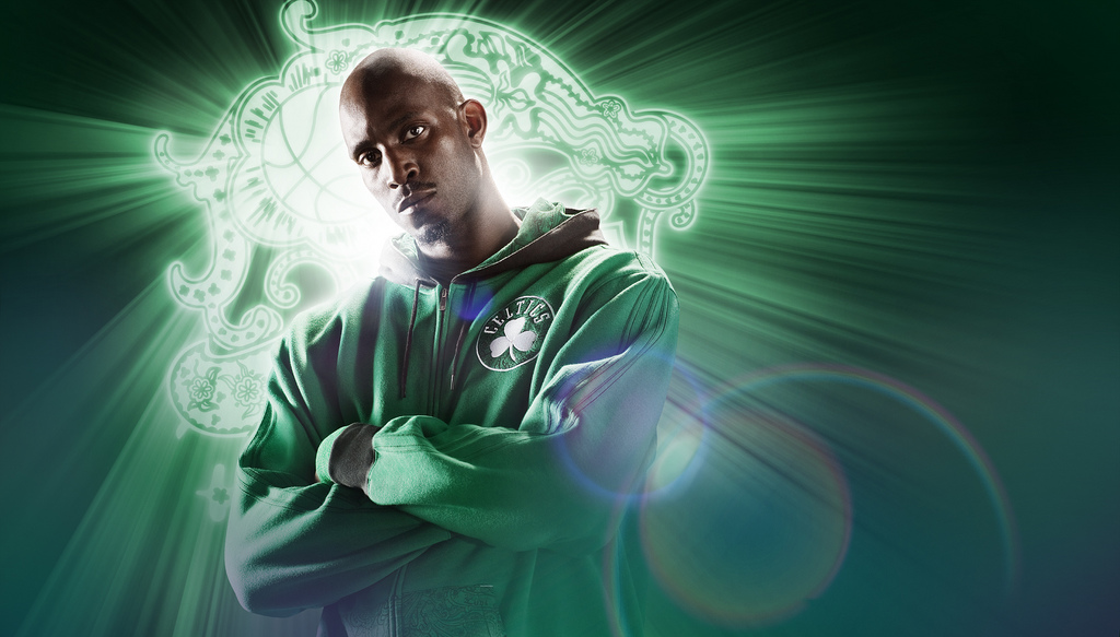 Kevin Garnett. Photo cred: adifansnet.