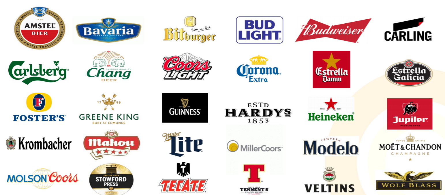 Bud Light and other beers are big spenders on sport sponsorship.