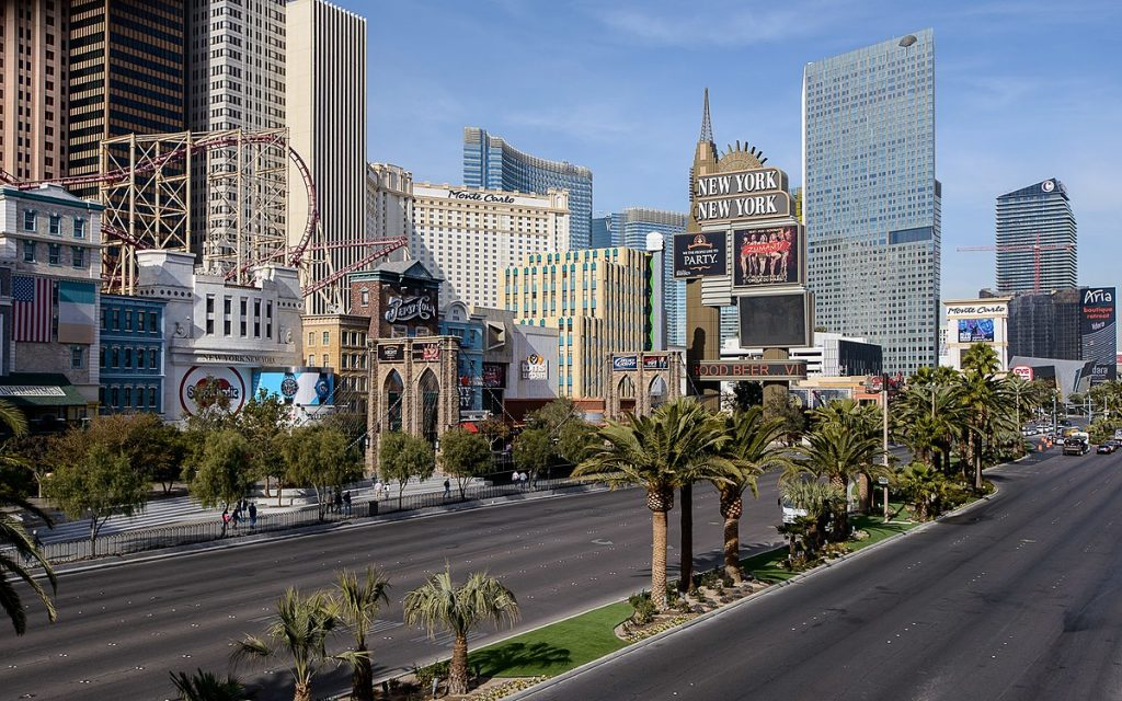 Las Vegas Strip Nevada Sports tout