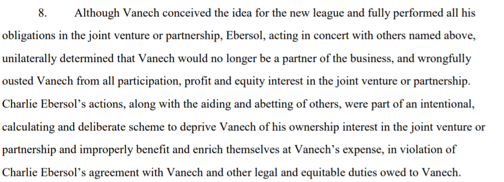 Vanech AAF Alliance football Ebersol