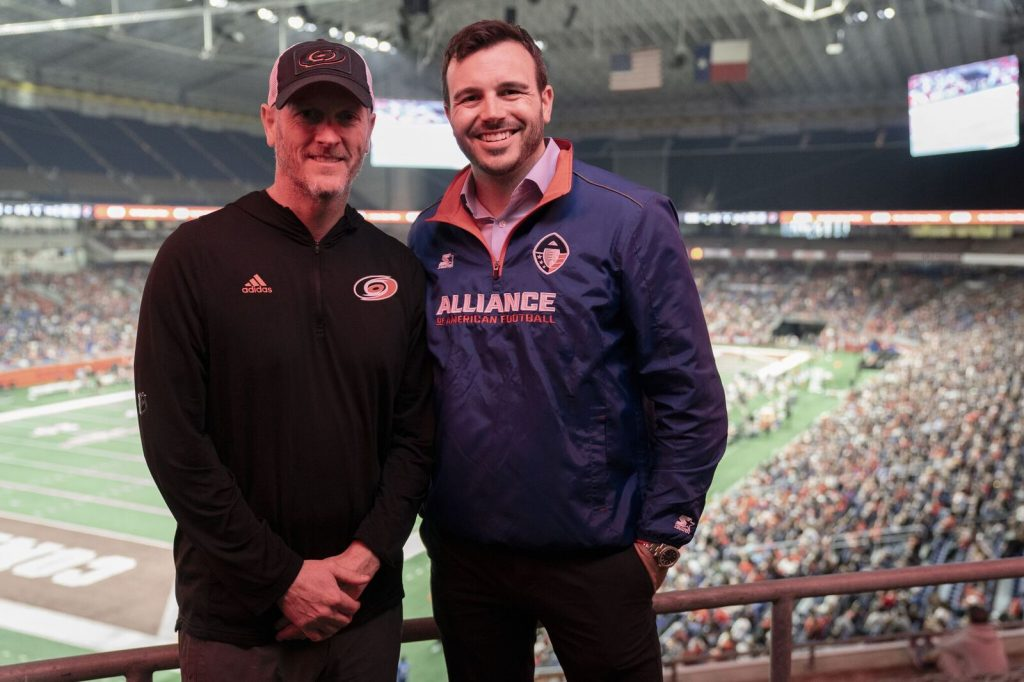 The AAF Tom Dundon Charlie Ebersol