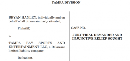 Tampa Bay Lightning TCPA