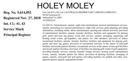 Fun Lab IP v Eureka Productions Holey Moley Steph Curry